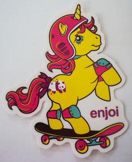 Enjoi Skateboards - My little Pony - Gelb
