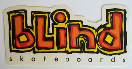 Blind Skateboards Logo - Orange