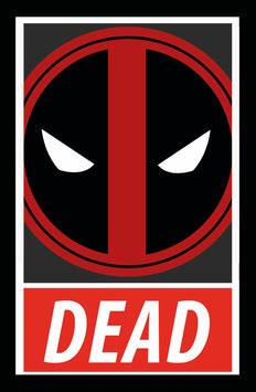 Deadpool - Superhelden Sticker