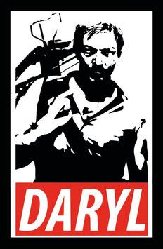 Daryl Dixon - Walking Dead Sticker