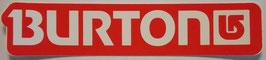 Burton - Schriftzug - Rot