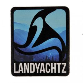 Landyachtz - Square Logo - Blue