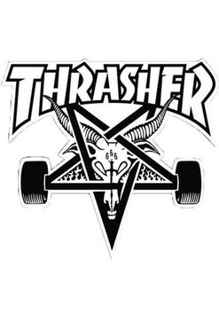 Thrasher - Goat - Weiß