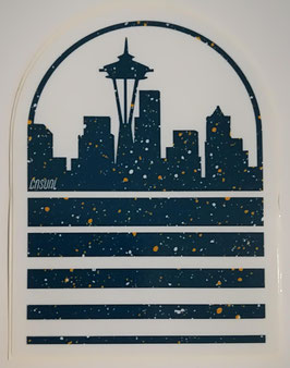 Casual Industrees - Seattle Speckled Skyline