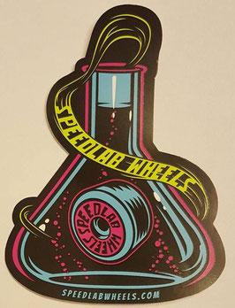 Speedlab Wheels - Beaker Sticker