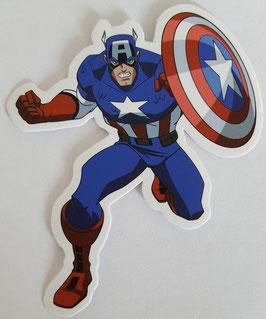 Captain America Sticker - Schild