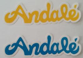 Andalé Bearings - Logo Schrift