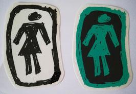 """Girl Skateboards - Logo """"Zeichnung"""" - groß"""