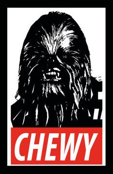 Star Wars Sticker - Chewbacca