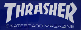 Thrasher - Logo - Blau