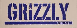 Grizzly Griptape - Schriftzug - Lila/Weiß