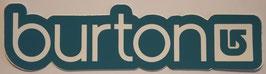 Burton - Schriftzug - Blau