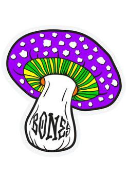 Bones Wheels Reyes Portal Sticker Lila