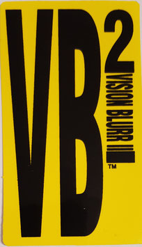 Vision Blurr 2 Sticker - Gelb