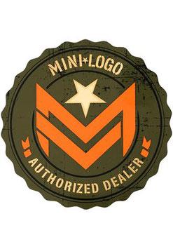 Mini Logo - Authorized Dealer Sticker - M