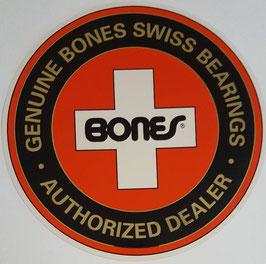 Bones Swiss Bearings - Authorized Dealer Sticker