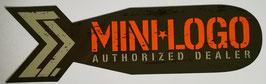 Mini Logo - Authorized Dealer Sticker - Bomb
