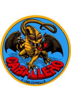 Powell Peralta Sticker Caballero Dragon