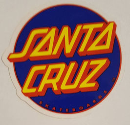 Santa Cruz - Classic Dot - Navy/Red