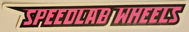 Speedlab Wheels - Speedlab Logo - pink/blau/grün