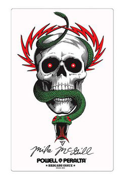 Powell Peralta Sticker - Mike McGill