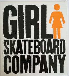 Girl Skateboards - Schrift