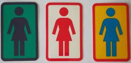 Girl Skateboards - Logo - verschiedene Farben - klein