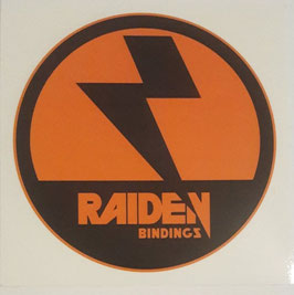 Raiden Bindings Sticker - Die Cut - rund