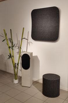 living.audio acoustics Silent Stool