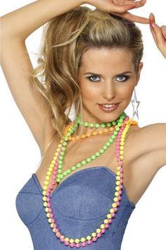 Perlenketten neonfarben