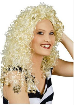 Perücke Sandy blond