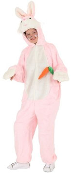 Kostüm Hase mit Karotte rosa