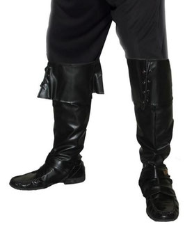 Stiefelstulpen schwarz