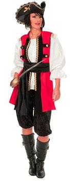 Kostüm Edelpiratin mit Hose