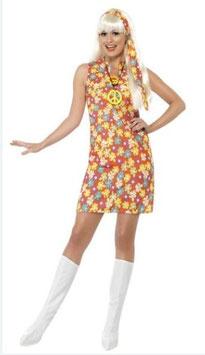Kostüm Flower Power - Kleid