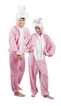 Kostüm Hoppelhase rosa