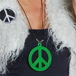 Peace - Kette grün