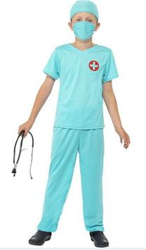 Kinderkostüm Chirurg