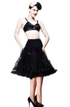 Petticoat Hell Bunny 60 cm schwarz