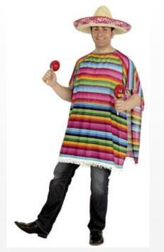 Kostüm Poncho