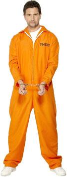 Kostüm Sträflingsoverall orange