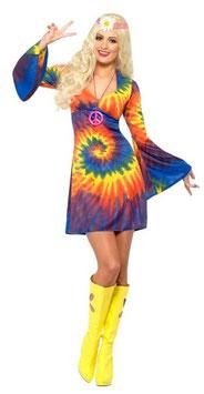 Kostüm Batik - Hippiegirl