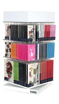 Tisch-Drehsäule  -  DVD`s, CD`s, Video´s