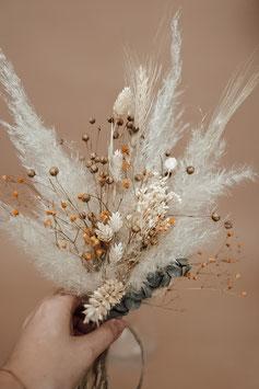 Trockenblumen klein natur/orange