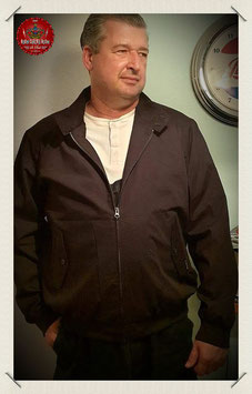 Mens - Dean Harrington Jacket in black