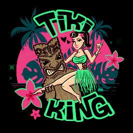 """Tanktop """"Tiki King"""""""