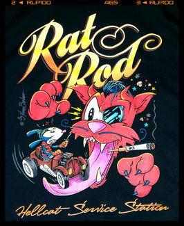 "T Shirt ""Rat Rod Rodder"""