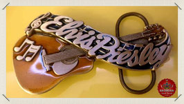 Elvis Presley Guitar Belt Buckle
