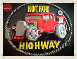 Hot Rod Highway Belt Buckle