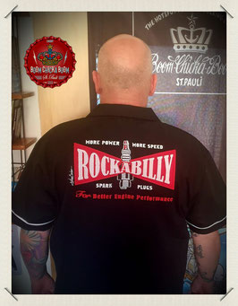"Bowling Shirt ""Rockabilly Zündkerze"""